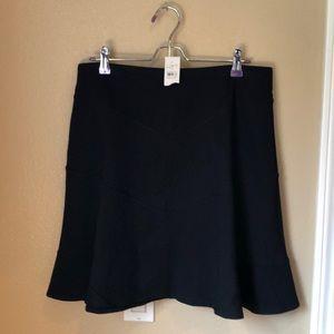 "Loft skirt M, NWT.  Fun & flirty. 19.5"" long Black"
